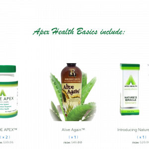 Apex Health basics bundle